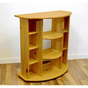 meuble hifi bois achat vente meuble hifi bois pas cher cdiscount. Black Bedroom Furniture Sets. Home Design Ideas