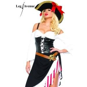 Costume sexy Pirate (taille: M-L…