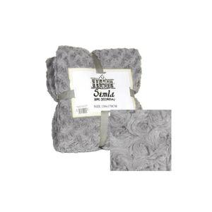 plaid simla achat vente plaid simla pas cher soldes d hiver d s le 11 janvier cdiscount. Black Bedroom Furniture Sets. Home Design Ideas