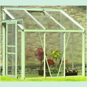 Serre de jardin en aluminium 185 126 195cm achat - Serres de jardin en soldes ...