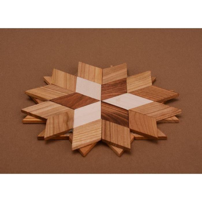 Dessous de plat en bois fait main dessous de plat en bois d coratif achat - Dessous de plat en bois ...
