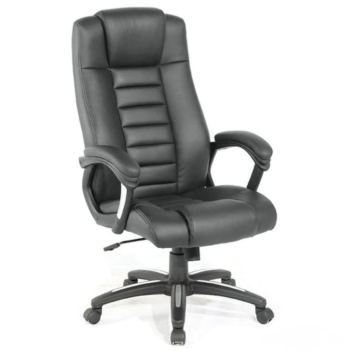 Chaise fauteuil si ge de bureau hauteur r glable achat for Siege de cuisine hauteur