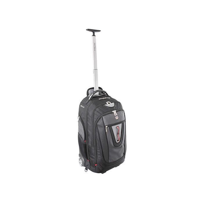 gino ferrari brio roues portable sac dos trolley 17 noir achat vente sac dos. Black Bedroom Furniture Sets. Home Design Ideas