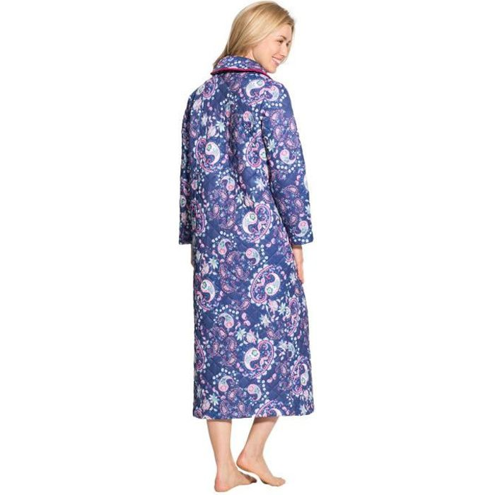 Robe de chambre matelassee achat vente robe de chambre matelassee pas cher cdiscount - Robe de chambre pas cher ...