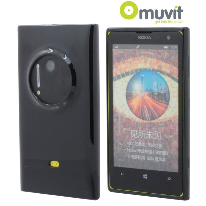 minigel muvit noire pour nokia lumia 1020 protegez votre nokia lumia