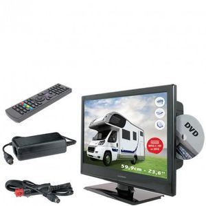 television pour camping car achat vente television. Black Bedroom Furniture Sets. Home Design Ideas