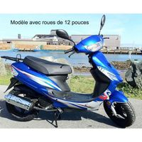 SCOOTER SCOOTER 50CC GROSSES ROUES 12 POUCES YIYING YY50QT