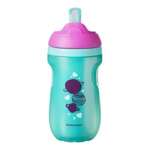 TOMMEE TIPPEE Explora Tasse ? Paille Isotherme Fille 12m+