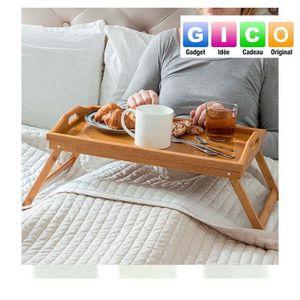 table pour petit dejeuner au lit achat vente table pour petit dejeuner au lit pas cher. Black Bedroom Furniture Sets. Home Design Ideas