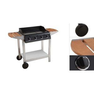 chariot plancha bois achat vente chariot plancha bois pas cher cdiscount. Black Bedroom Furniture Sets. Home Design Ideas