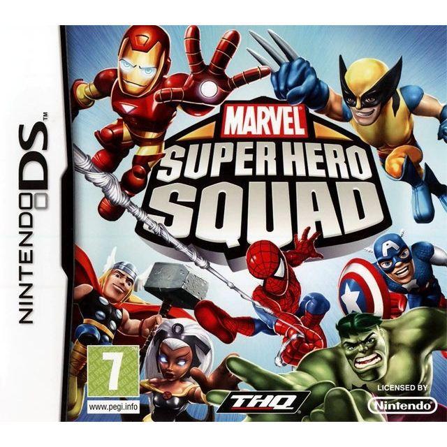 JEUX DS MARVEL SUPER HERO SQUAD / JEU CONSOLE NINTENDO DS
