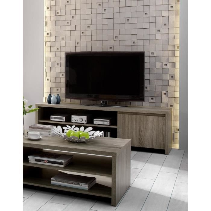 lot table basse et meuble tv ref granda achat vente. Black Bedroom Furniture Sets. Home Design Ideas