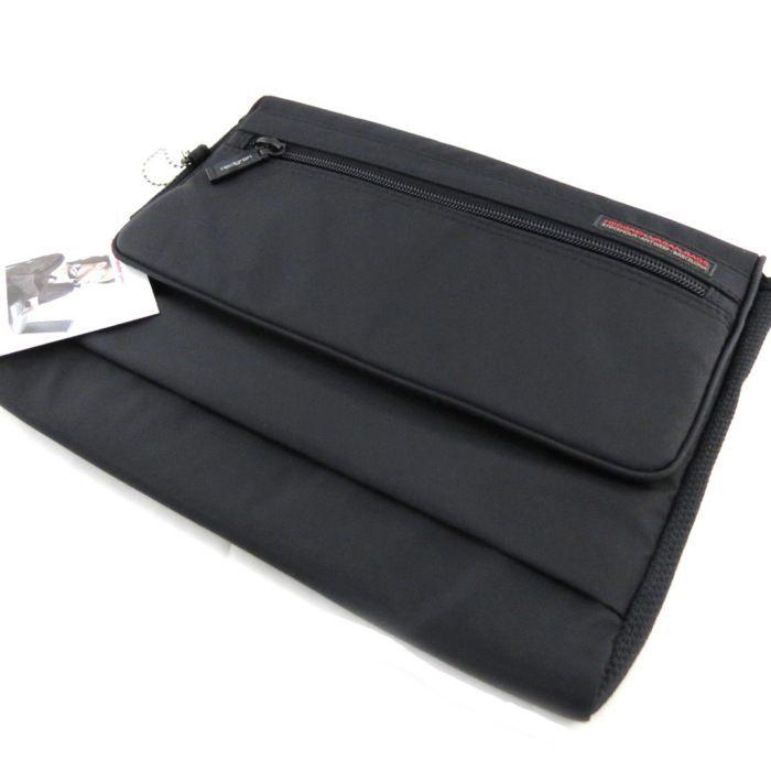 Housse ordinateur portable hedgren noir form achat for Housse ordinateur portable