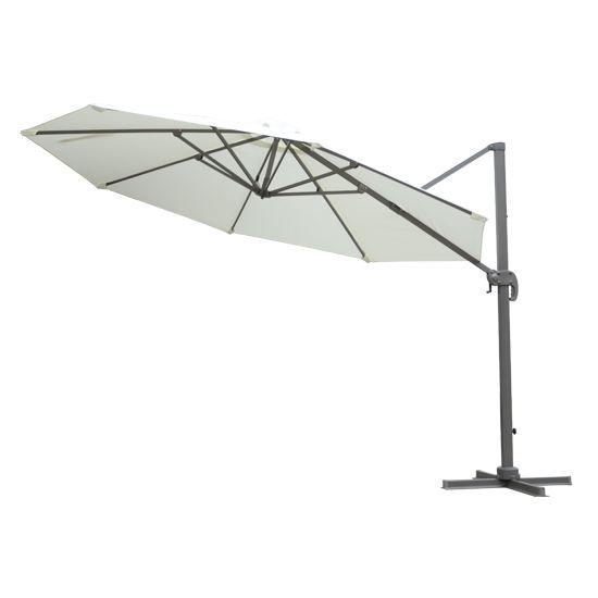 parasol d port octogonal manivelle 360 pivo achat vente parasol parasol d port. Black Bedroom Furniture Sets. Home Design Ideas