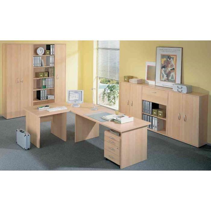 Meubles de bureau combinaison 4 b ro combi 1 achat for Meuble bureau soldes