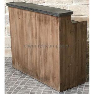 comptoir bar bois achat vente comptoir bar bois pas. Black Bedroom Furniture Sets. Home Design Ideas