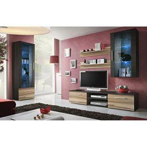 Meubles salon salon complet meuble tv achat vente for Meuble de salon complet