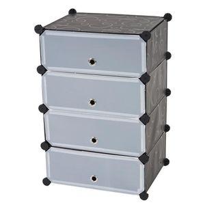 meubles a chaussures 45 cm achat vente meubles a chaussures 45 cm pas cher soldes cdiscount. Black Bedroom Furniture Sets. Home Design Ideas