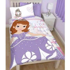 housse de couette princesse sofia achat vente housse. Black Bedroom Furniture Sets. Home Design Ideas