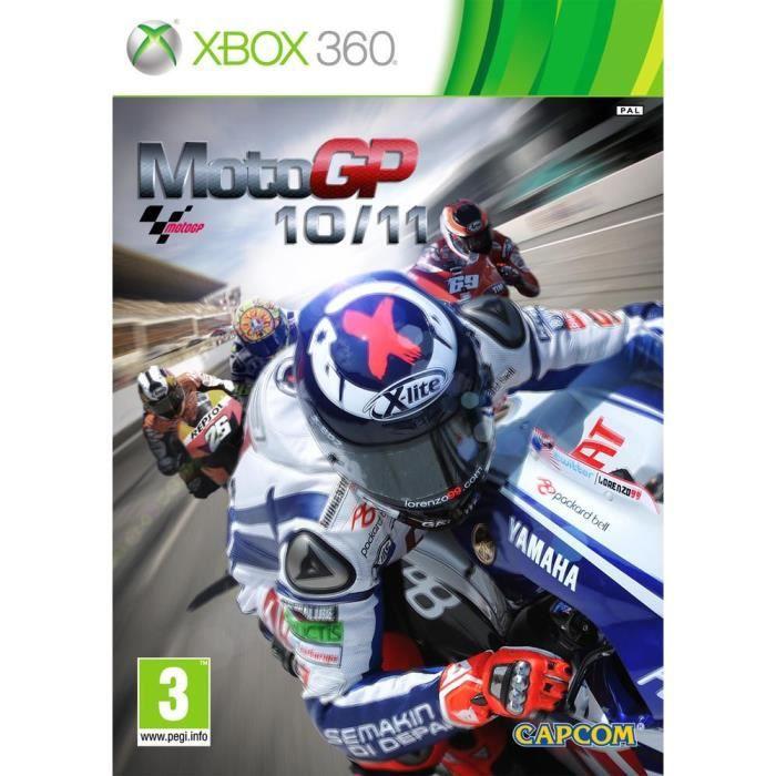 JEUX XBOX 360 MOTO GP 2010/2011 / Jeu console X360