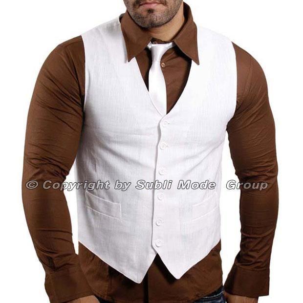 gilet chemise cravate homme blanc achat vente. Black Bedroom Furniture Sets. Home Design Ideas