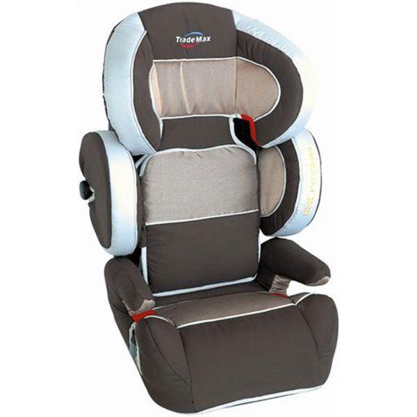 Siege auto enfant grpe 2 3 trademax travel marron achat for Siege enfant 15kg