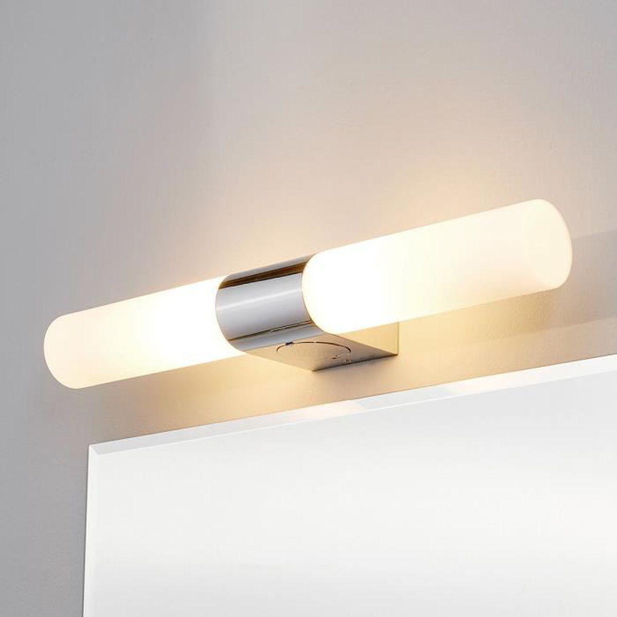 luminaire salle de bain avec prise achat vente luminaire salle de bain avec prise pas cher. Black Bedroom Furniture Sets. Home Design Ideas