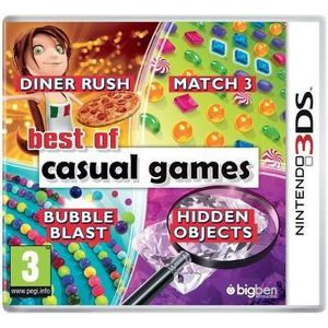 JEU 3DS BEST OF CASUAL GAMES