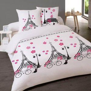 housse de couette 220 240 paris achat vente housse de couette 220 240 paris pas cher. Black Bedroom Furniture Sets. Home Design Ideas