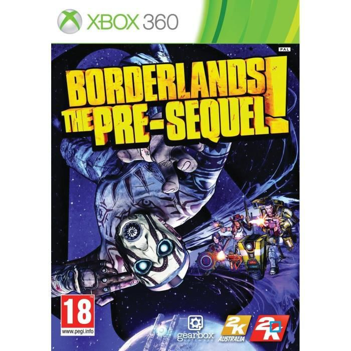 JEUX XBOX 360 Borderlands: The Pre-Sequel Jeu XBOX 360