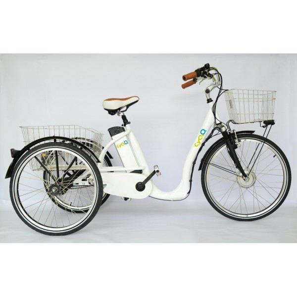 Tricycle lectrique comfort 26 achat vente triporteur - Tricycle couche electrique ...