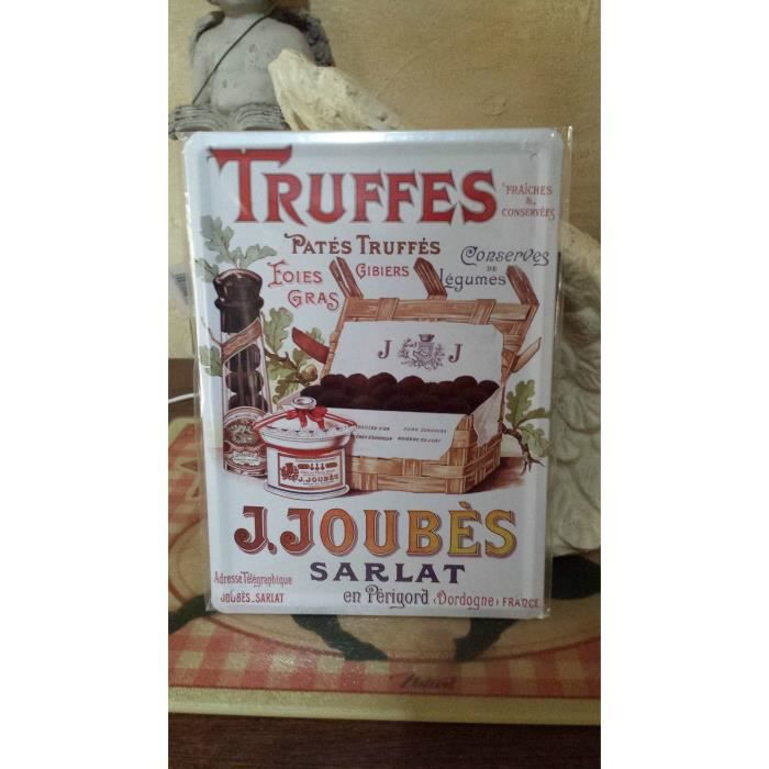 Plaque truffes de sarlat 15 20 cm achat vente objet for Plaque de decoration murale