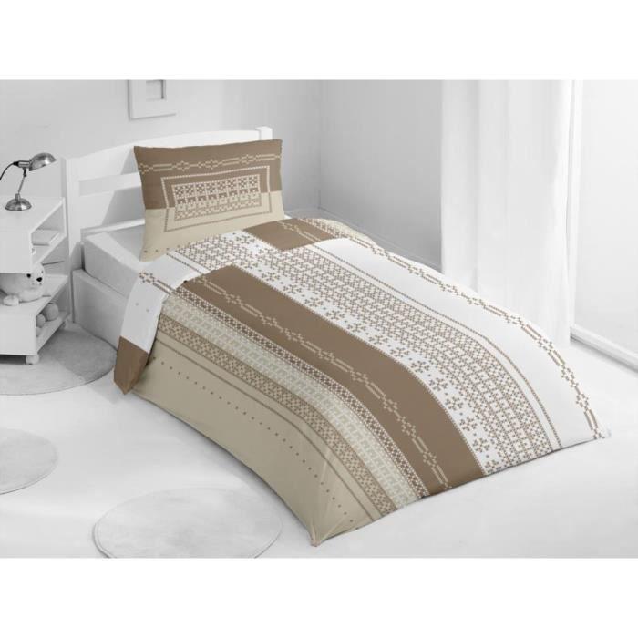 coton couleur ecrudescription du produit un petit air de montagne apport par des rayures. Black Bedroom Furniture Sets. Home Design Ideas