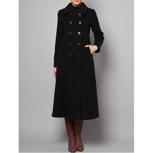 manteau caban Manteau long en laine vierg Soldes* d?été
