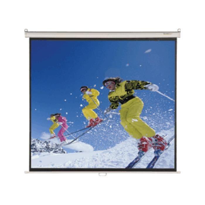 Cran de projection manuel screen 39 up first 50003 ecran for Ecran de projection mural manuel