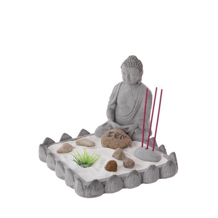 Jardin zen bouddha gris achat vente jardin japonais for Achat jardin japonais