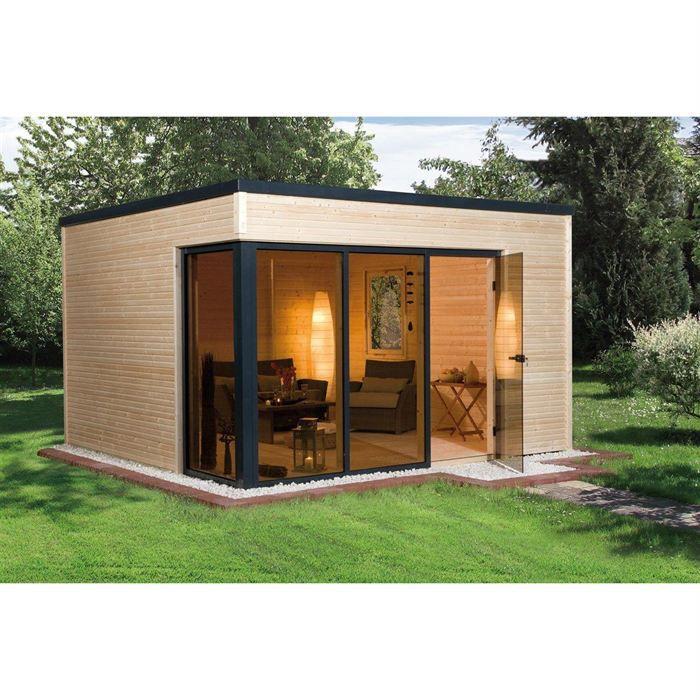 abri bungalow en bois massif 11 4m beatus achat vente abri jardin chalet abri bungalow en. Black Bedroom Furniture Sets. Home Design Ideas