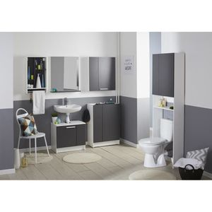 meuble wc bois - achat / vente meuble wc bois pas cher - les ... - Meuble Wc Design