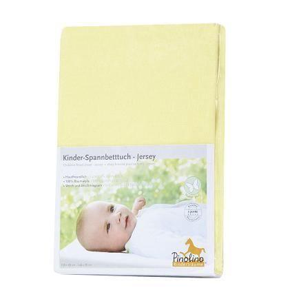 Drap housse jaune pour lit b b 120 60 ou 140 70 jaune - Drap housse jaune ...