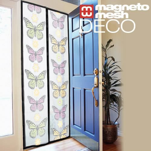 magneto mesh deco rideau magn tique anti insectes achat vente effaroucheur magneto mesh deco. Black Bedroom Furniture Sets. Home Design Ideas
