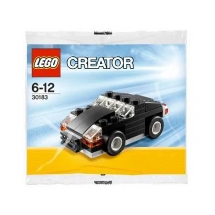 lego creator 30183 la voiture noir achat vente univers miniature cdiscount. Black Bedroom Furniture Sets. Home Design Ideas