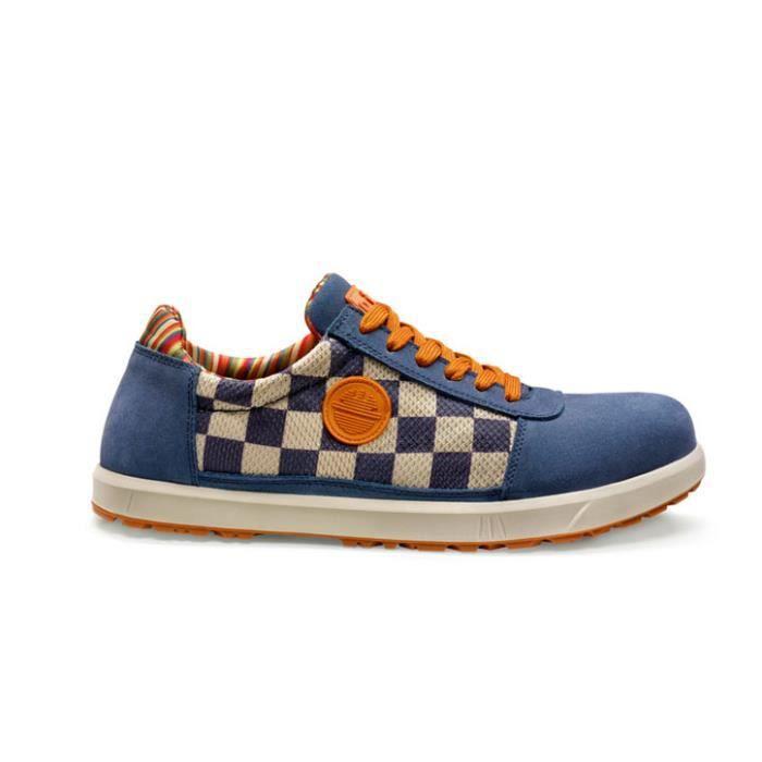 chaussures de s curit dike femme homme ble bleu creme achat vente chaussures de. Black Bedroom Furniture Sets. Home Design Ideas