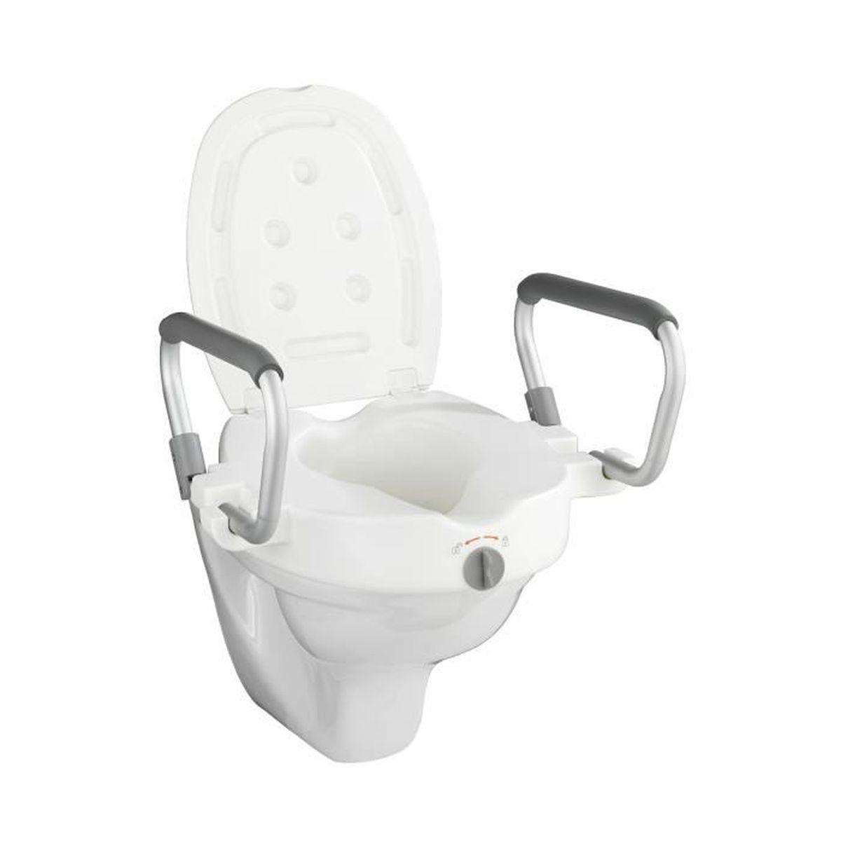 abattant wc avec rehausse achat vente abattant wc avec rehausse pas cher les soldes sur. Black Bedroom Furniture Sets. Home Design Ideas