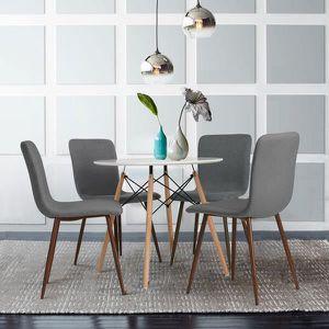 dimensions table à manger 4 personnes dans une cuisine - Ecosia