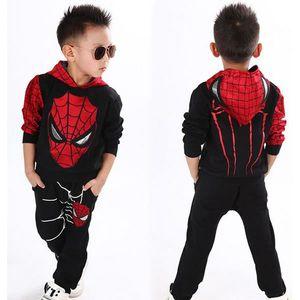DÉGUISEMENT - PANOPLIE Survêtement / déguisement Spiderman top Fashion –