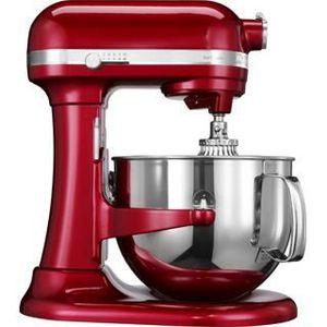 ENSEMBLE PÂTISSERIE Robot pâtissier KITCHENAID 5KSM7580XECA rouge 6,9L