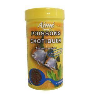 Aliment pour poissons granules achat vente aliment for Aliment pour poisson