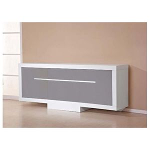 buffet laque taupe achat vente buffet laque taupe pas cher cdiscount. Black Bedroom Furniture Sets. Home Design Ideas