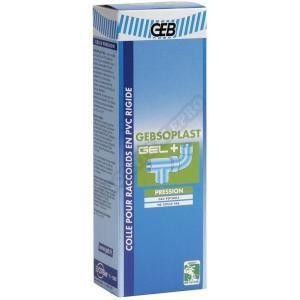 Gebsoplast gel plus colle pour raccord en pvc rigi achat vente colle pa - Fuite raccord pvc colle ...