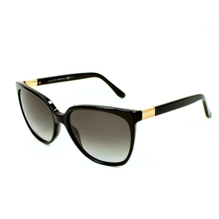 gucci gg3502s 807n6 noir achat vente lunettes de. Black Bedroom Furniture Sets. Home Design Ideas